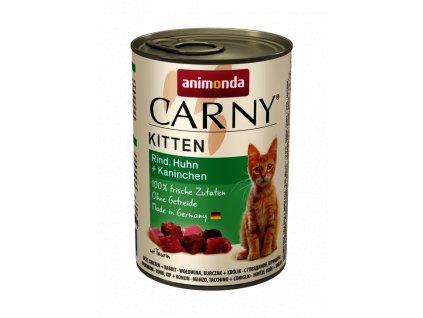 Animonda Carny Kitten kuře+králík