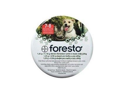 Obojek Foresto antiparazitní pro kočky a malé psy 38cm