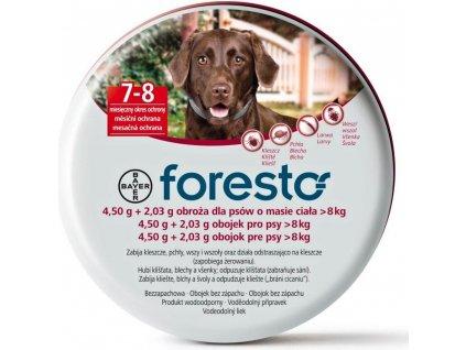 Obojek Foresto antiparazitní 70cm