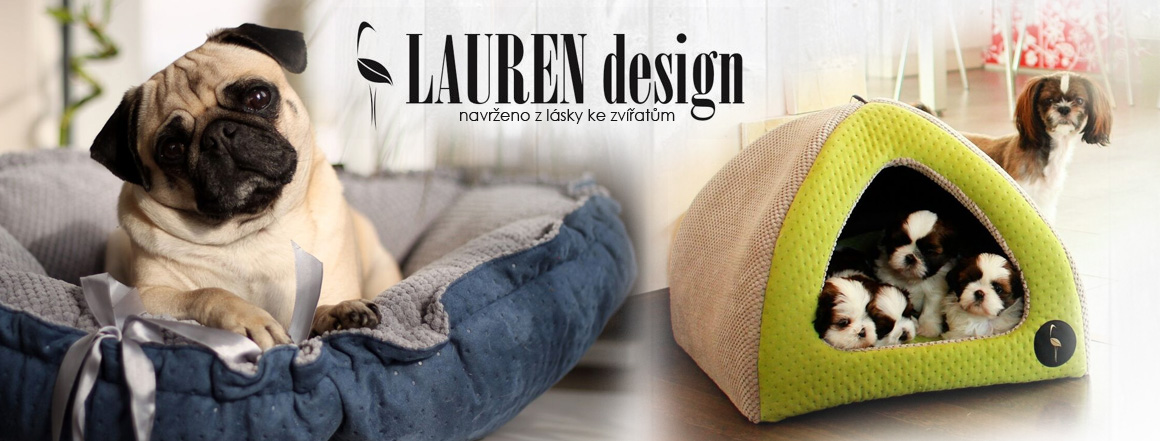 Lauren Design pelíšky pro psy