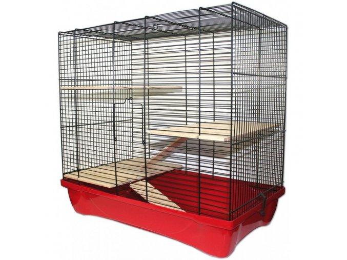 Klec pro křečky, morčata, myši a malé hlodavce Hamster 12