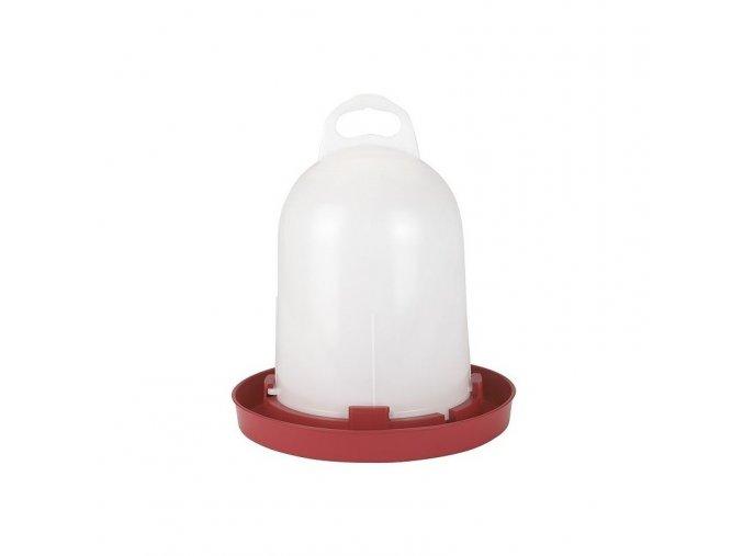 Napáječka pro drůbež plastová klobouková, bajonet, 5,5 L