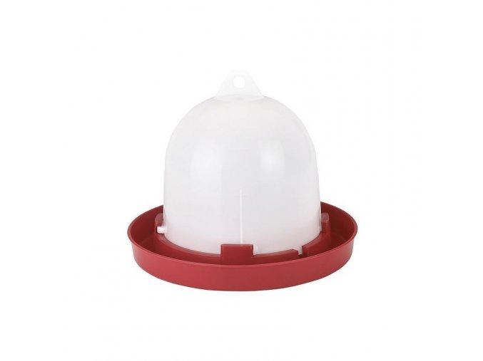 Napáječka pro drůbež plastová klobouková, bajonet, 1,5 L