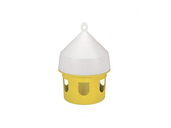 Zásobník na zrní, krmítko pro holuby, závěsné, 5l