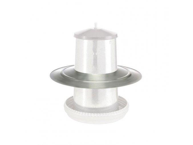 Štít ochranný proti dešti pro krmící automat, pro 22 kg