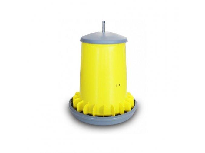 Automatické krmítko pro slepice ARCUS, nastavitelné, závěsné, 20 L