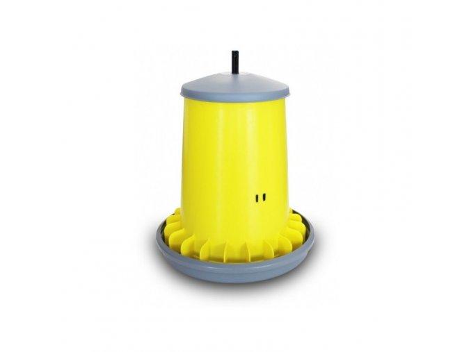 Automatické krmítko pro slepice ARCUS GYRO, nastavitelné, závěsné, 20 L