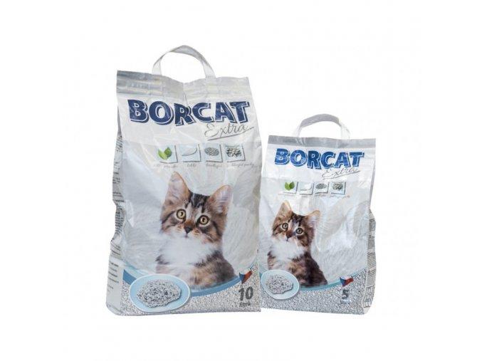 Stelivo hrudkující pro kočky a hlodavce Borcat Extra, 10 L