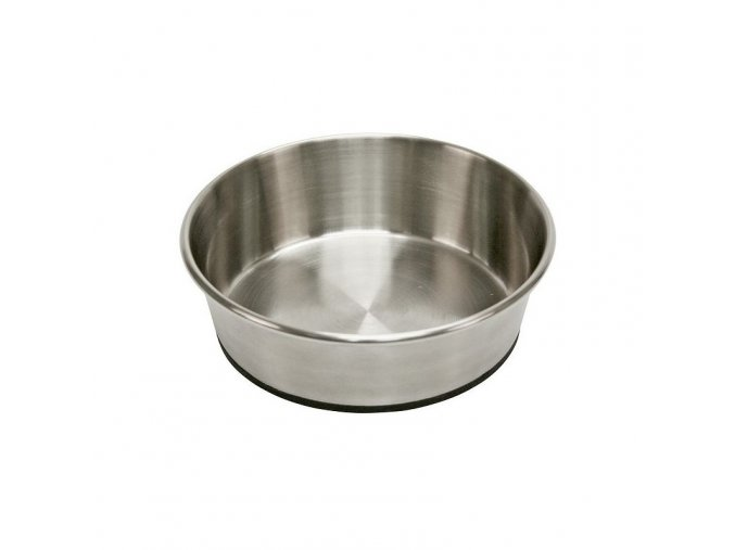 Miska pro psa, nerezová, protiskluzná, 425 ml