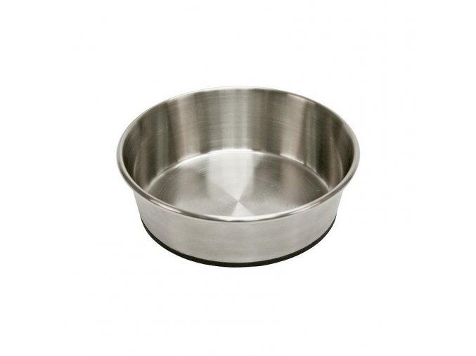 Miska pro psa, nerezová, protiskluzná, 1600 ml