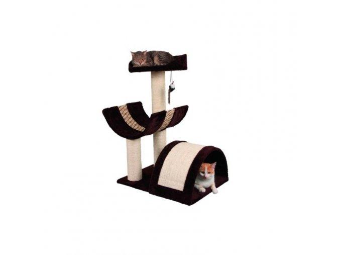 Škrabadlo pro kočky SAFARI XL - odpočívadlo, hnědá