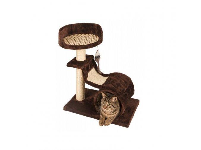 Škrabadlo pro kočky SAFARI Air - odpočívadlo, hnědá