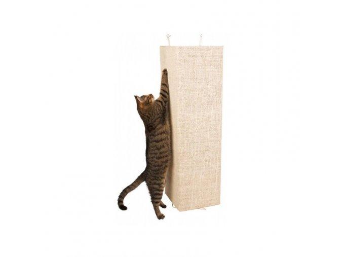 Škrabadlo pro kočky KEVIN, rohové, 80 x 28 cm, 100 x 56 cm