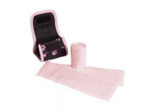Karlie-Flamingo Taška růžová se sáčky - 2x20 ks