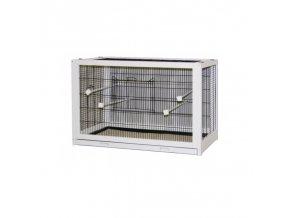 Klec pro ptáky Fips dřevěná, masiv, 100 x 50 x 60 cm