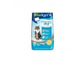Stelivo pro kočky Gimpet BioKats Classic Cotton Blossom - květinová vůně, 10 kg