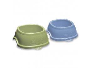 Miska plastová Break pastelově modrá/pastelově zelená, 700 ml