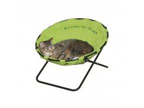Pelíšek pro kočky WONDERFUL DREAM - židle pro kočky, zelená
