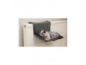 Odpočívadlo pro kočky na topení PARADIES, 45 x 30 cm / šedá