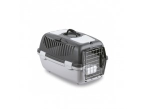 Přepravka pro psy a kočky Gulliver 2 DELUXE, 55x36x35cm, šedá