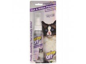 Urine Off - sprej proti skvrnám a zápachu, pro kočky, 118 ml