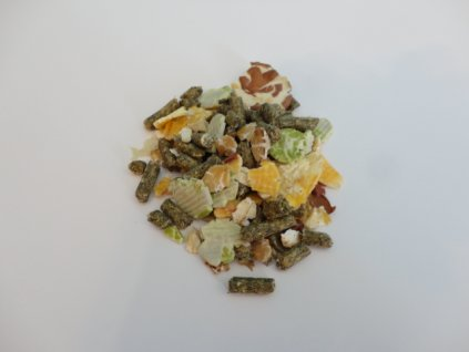 Master Food Müsli  - krmivo s vločkami podle druhu pro: Morčata, králiky, činčily, osmáky, pískomily, potkany a křečky
