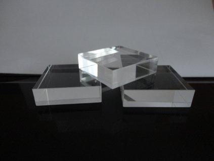 Podstavec pod minerály 30 x 30 x 12