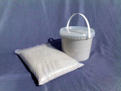 Písek filtrační a dekorační 0,5 - 1