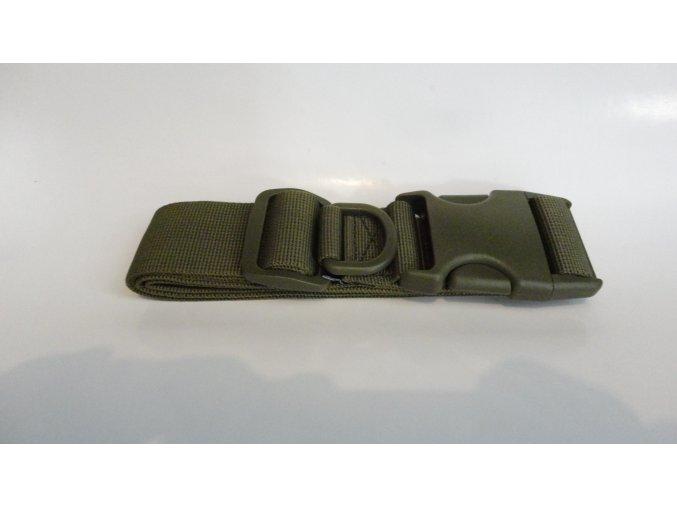 Vojenský taktický opasek na brašny, kapsy, držáky kladiv a pouzdra na lahve.