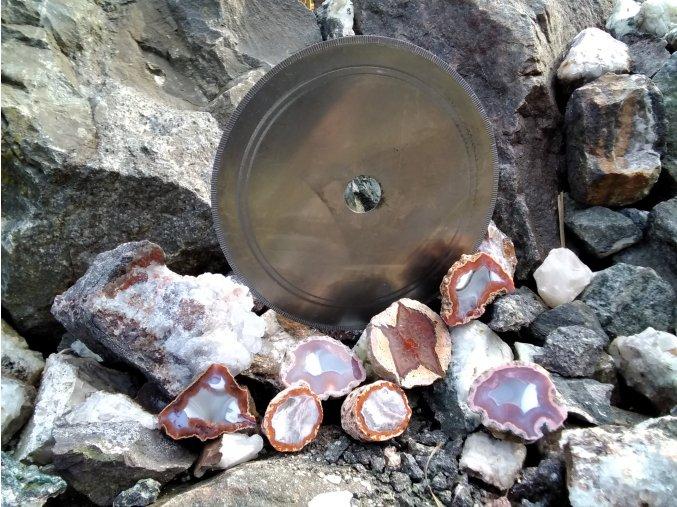 Diamantový kotouč na acháty a drahé kameny 250 mm x 0,7 mm