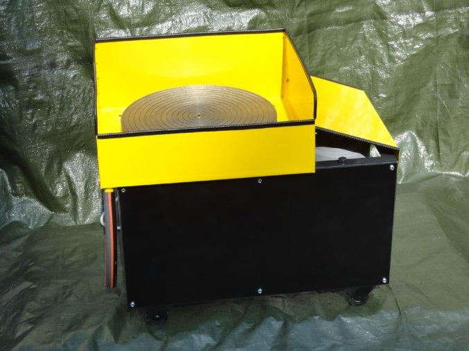 Bruska, leštička na acháty a sklo - hladinový stroj