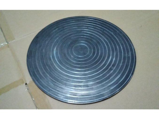 Brusný kotouč - ocelový kotouč na broušení minerálů a skla. Čelní kotouč na rovinné broušení a leštění. Bruska na acháty, minerály a sklo