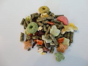 Master Food  PREMIUM  - Prémiové krmivo podle druhu pro: Morčata, králiky, činčily, osmáky, pískomily, potkany a křečky