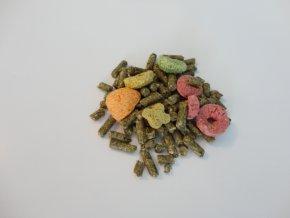 Master Food SURPRISE  - Krmivo s křupavými extrudy a pochoutkovým překvapením podle druhu pro: Morčata, králiky, činčily, osmáky, pískomily, potkany a křečky