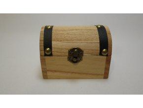 Šperkovnice - dřevěná truhla