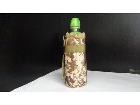 Praktické maskáčové pouzdro nejen na lahev k pověšeni na opasek či batoh