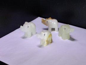 Onyxový slon L