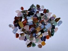 Tromlované drahé kameny XL 100 g