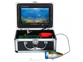 Rybářská podvodní kamera s NAHRÁVÁNÍM, osvětlením a tabletem nejen pro pozorování ryb
