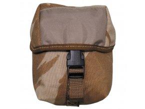 Příruční taška maskáč desert - brašna, pouzdro na opasek