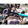 AKCE výhodný set 3 v 1: Palice, palička - kladivo 1,5 kg + sekáč + kladivo