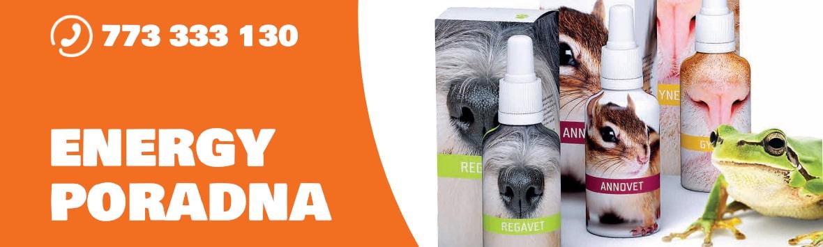poradna veterinárních produktů Energy