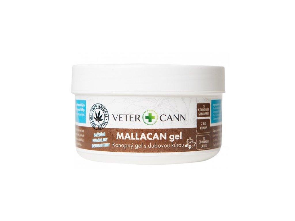 mallacan konopný gel s dubovou kůrou
