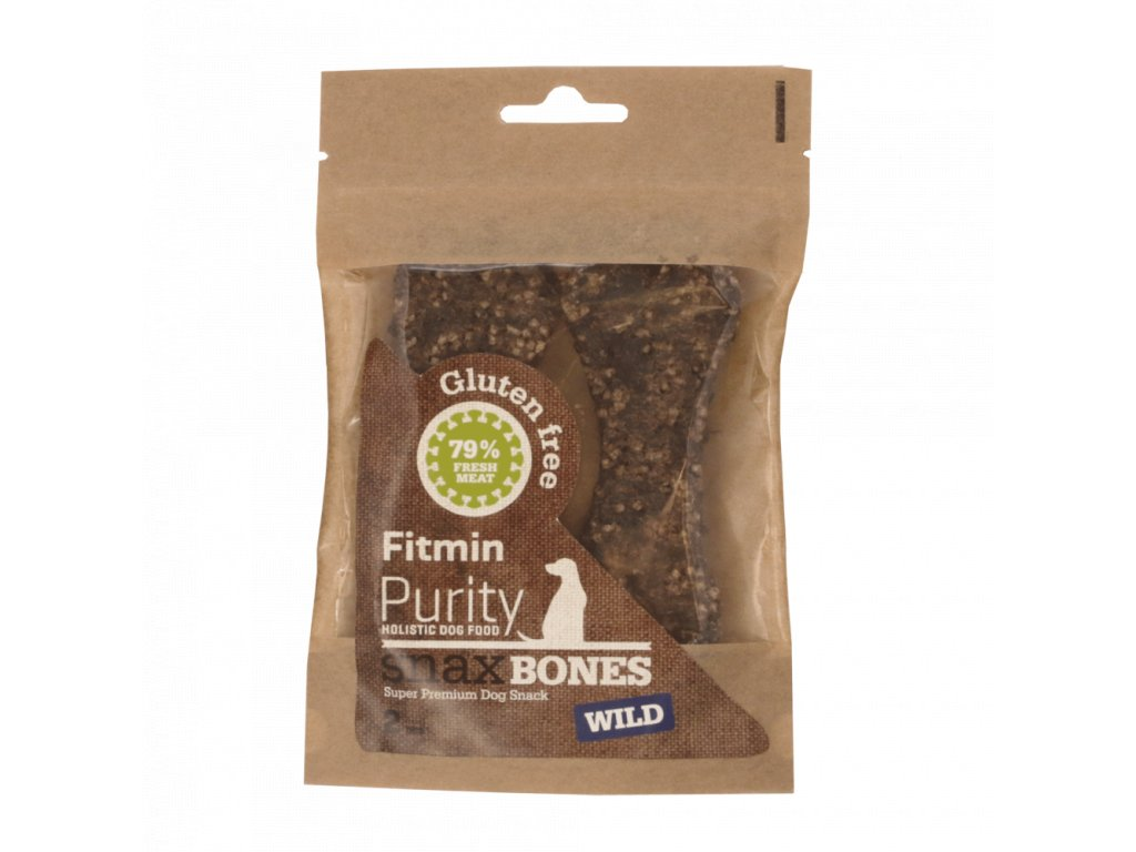 Fitmin dog Purity Snax BONES wild 2ks