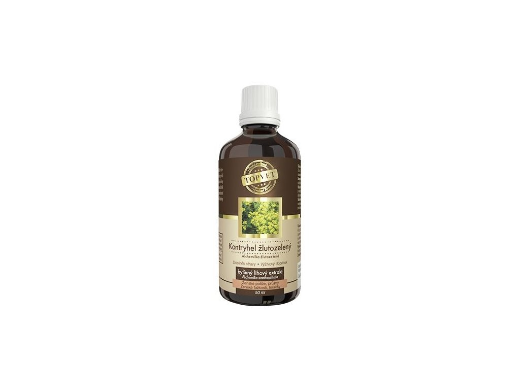 4919 topvet kontryhel zlutozeleny tinktura 50 ml