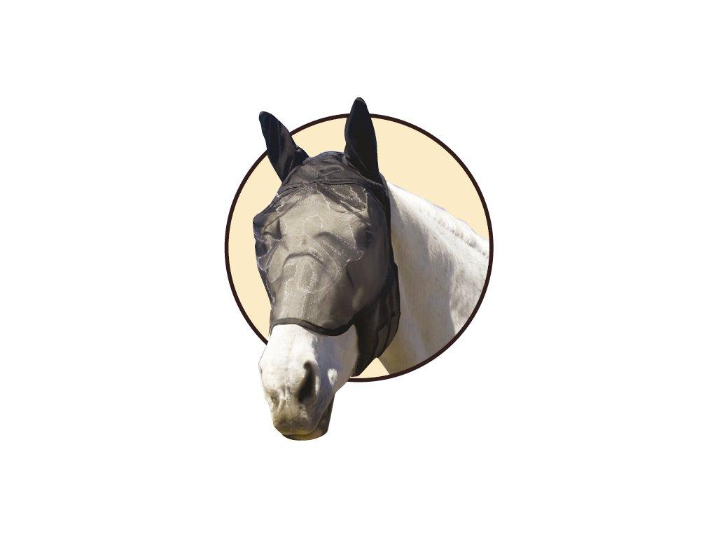 Maska pro koně proti hmyzu velikost malý kůň