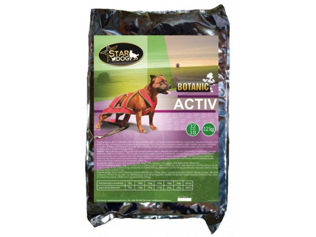 Stardog granule pro aktivní psy