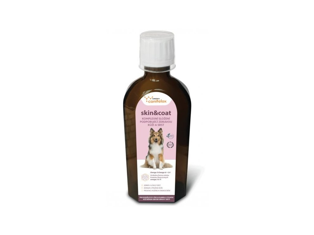 canifelox skin coat dog 150 ml