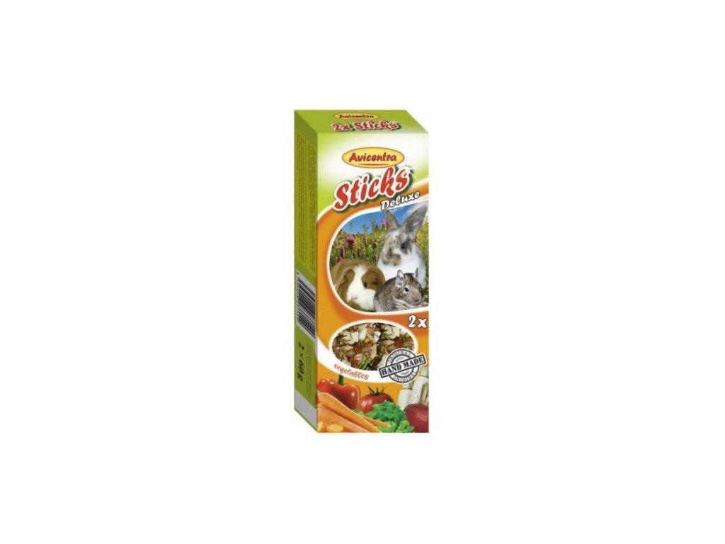 Avicentra tycinky se zeleninou pro velke hlodavce 2 ks