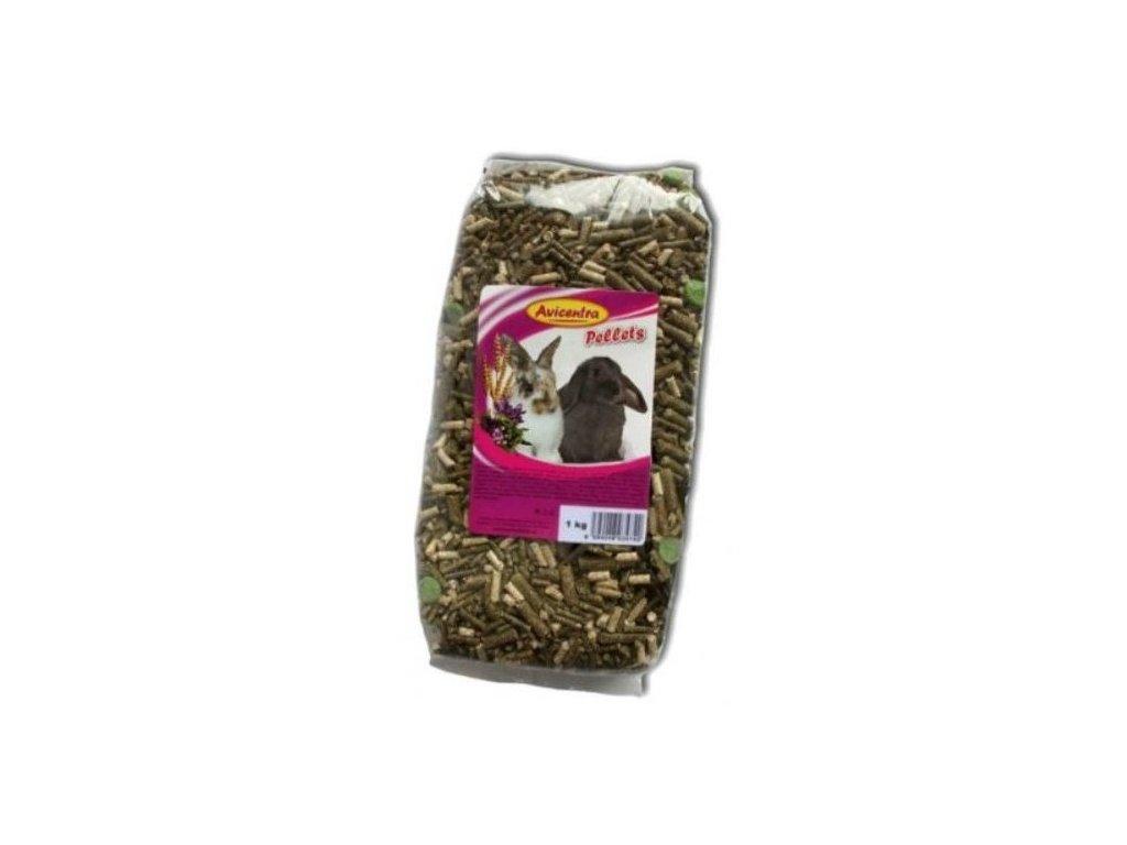 Avicentra granule pro kraliky 1 kg